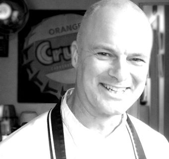 Steve Evennett-Watts Chef and founder of The Delicious Dining Company, your personal chef service